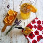 Levanduľovo-pomarančová limonáda