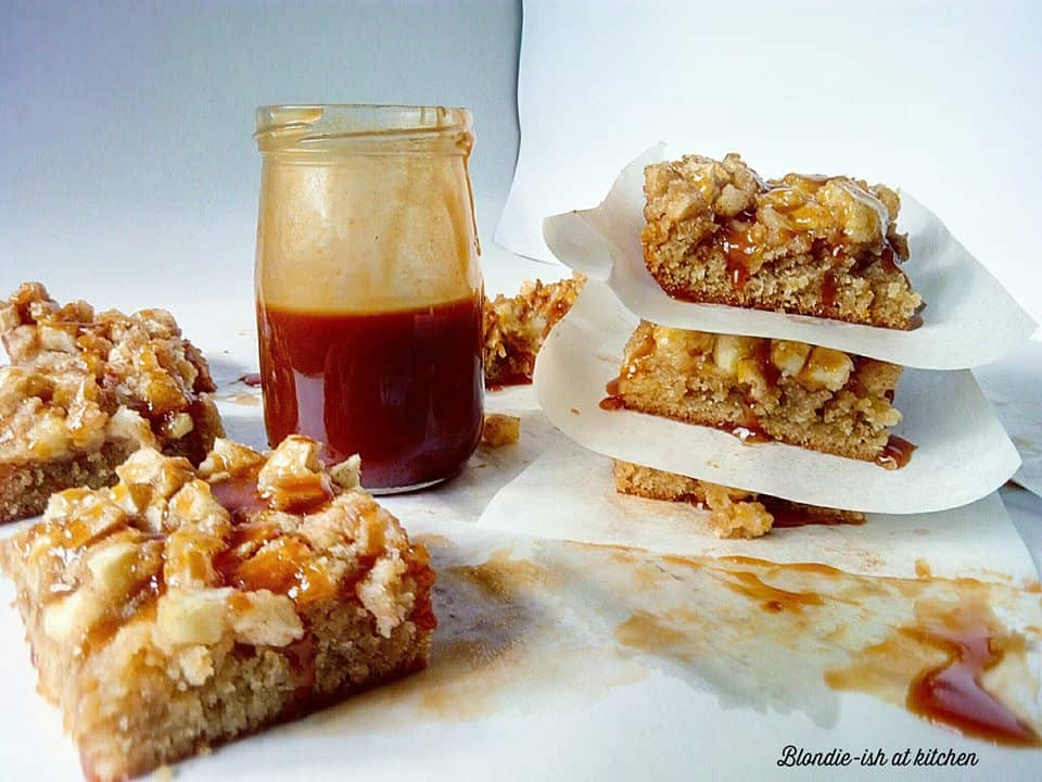 peanut-butter-bars-apple-and-salted-caramel