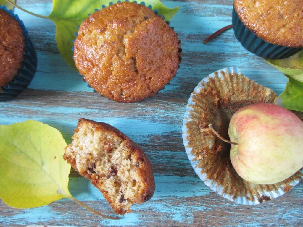 jablkove muffiny