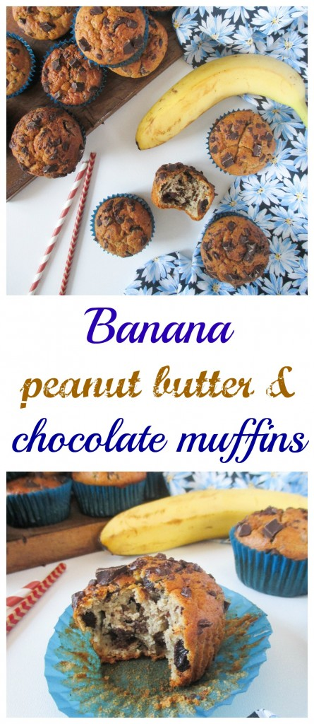 banana-peanut-butter-chocolate-muffins