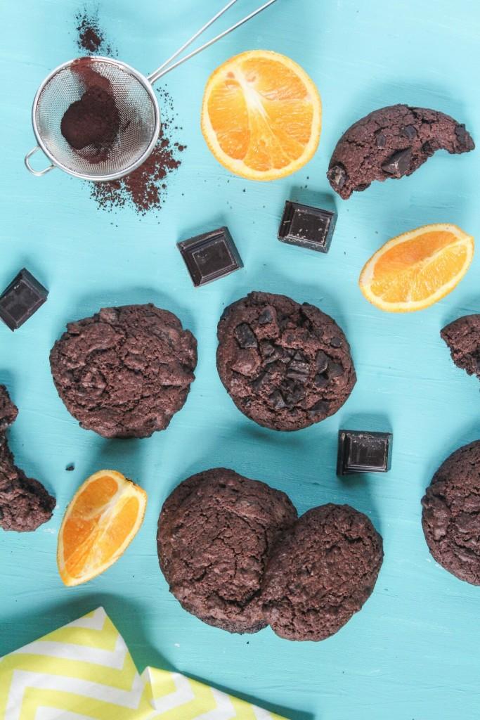 cokoladovo pomarancove cookies
