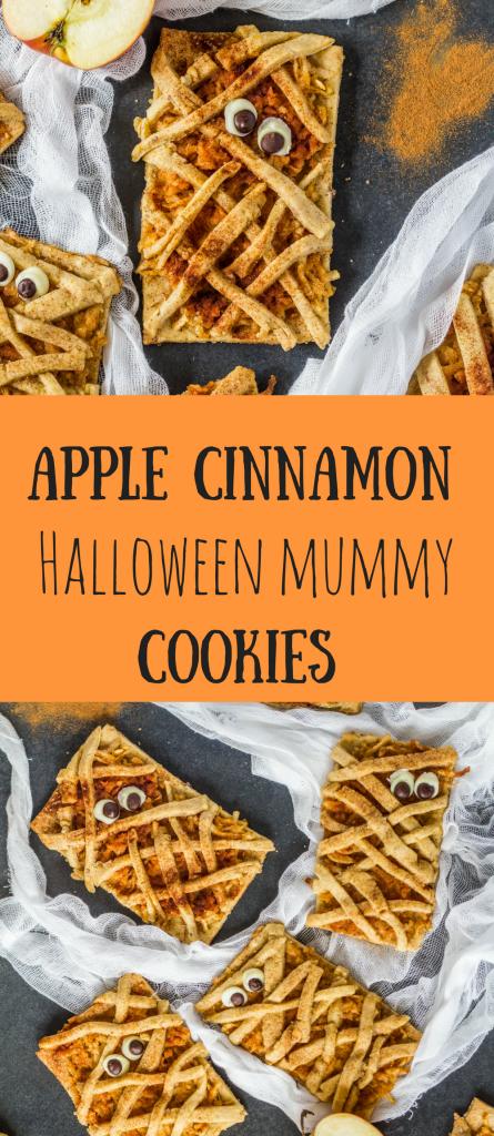 jablkovo-škoricové-halloweenske-múmia-cookies-pin