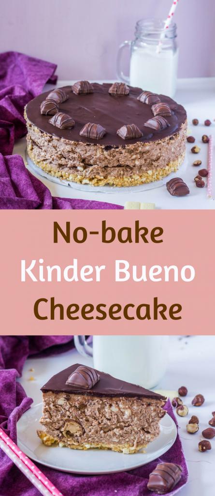 nepečený kinder bueno cheesecake