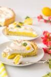 Francúzsky citrónový tart so snehom