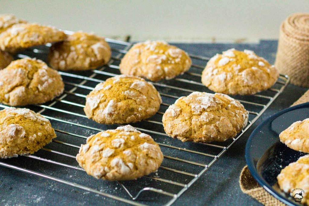 mäkké tekvicové cookies