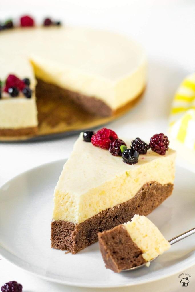 mangová mousse torta