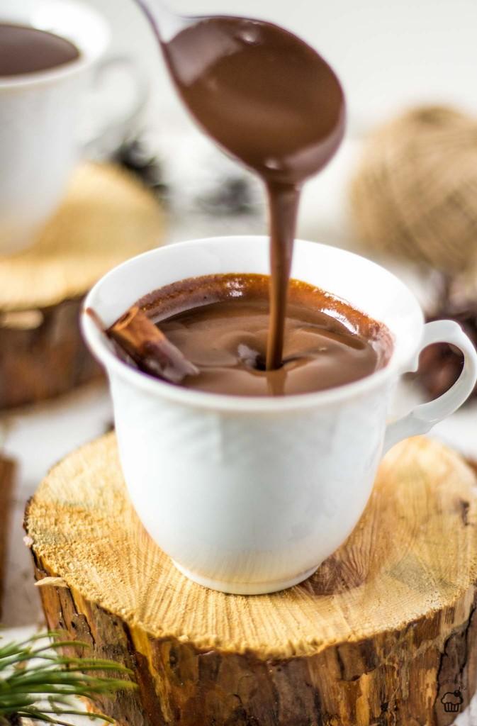 hustá horúca čokoláda
