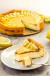 citrónový cheesecake s lemon curd