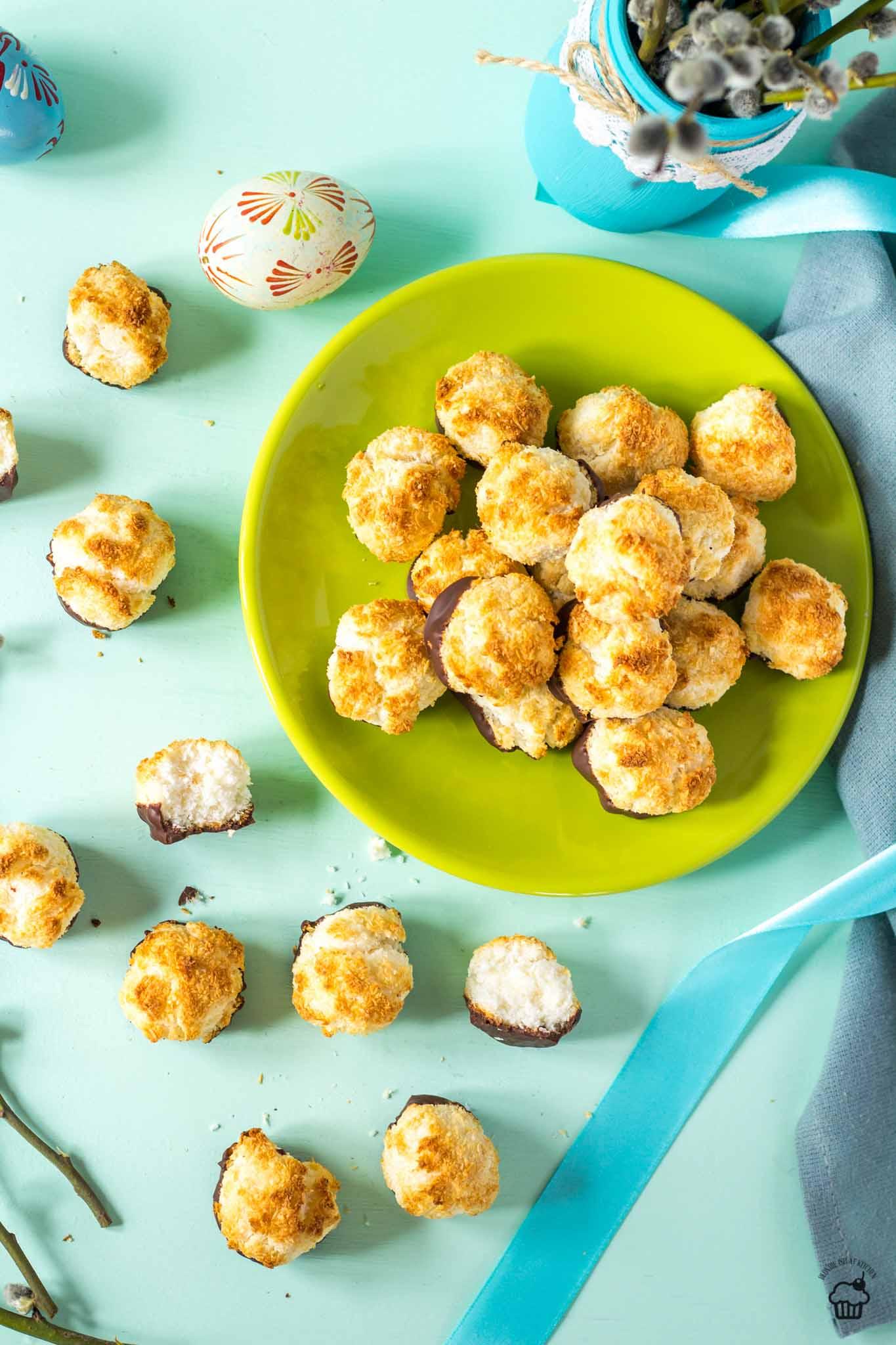 Kokosky zo salka a bielkov
