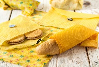 DIY voskované obrúsky na jedlo