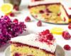 malinovo citrónový torto-koláč