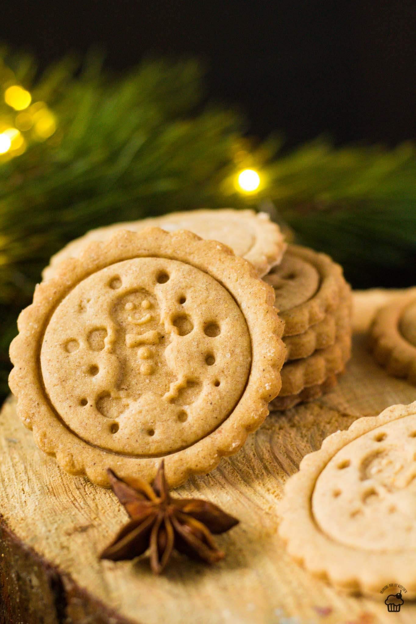 perníkové pečiatkové sušienky