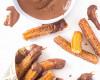 španielske churros s domácou čokoládovou omáčkou
