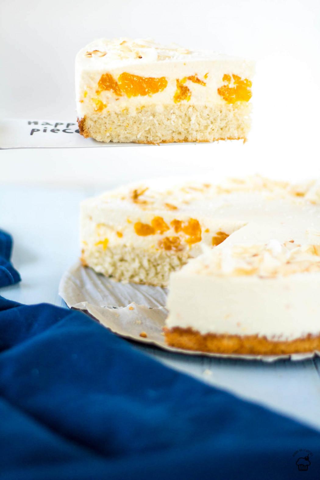 kokosovo mandarínkový koláč