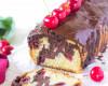 Kakaovo vanilkový chlebík s čerešńami