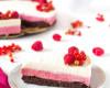 brownie vanilková mascarpone torta z červeného ovocia