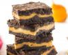 tekvicový brownie cheesecake s čiernym kakaom